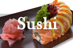 Sushi serwowane w lubelskich lokalach.